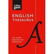 Collins English Thesaurus Gem Edition, Paperback/Collins Dictionaries