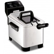 Tefal FR333040 Easy Pro Deep Fat Fryer, 1.2kg - Silver
