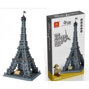 Eiffel Tower of Paris, France - Building Blocks 978 Pcs Set In Gift Box