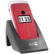 DORO PRIMO 413RT - Mobiltelefon, Klapphandy, seniorengerecht, rot