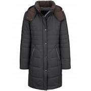 MYBC Long-Steppjacke MYBC mehrfarbig Damen 38 mehrfarbig
