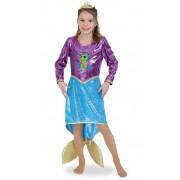Costum pentru serbare Sirena Deluxe 116 cm