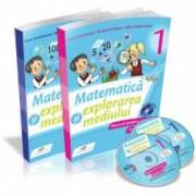 Matematica si explorarea mediului - Manual pentru clasa I partea I si partea a II-a