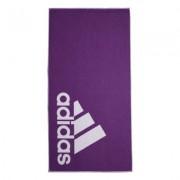Handduk lila/vit - Adidas