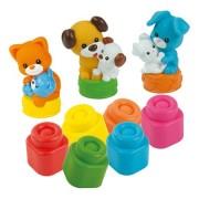 Set de joaca pentru bebelusi Clemmy - Animale domestice