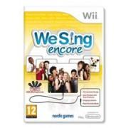 We Sing Encore Nintendo Wii