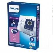 Торбички за прахосмукачка PHILIPS FC8027/01, 3 броя, s-bag®, Против миризми