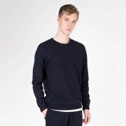 Reigning Champ Twill Terry Pullover Sweatshirt Navy