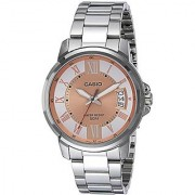 Casio Enticer Analog Rose Gold Dial Mens Watch-MTP-E130D-9AVDF (A1166)