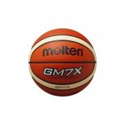 【SALE 10%OFF】モルテン molten バスケットボール GM7X BGM7X-TI 15 (オレンジ×アイボリー)