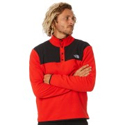 The North Face Tka Mens Glacier Snap Fiery Red Tnf Black