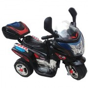 Oh Baby Baby Battery Operated Bike Black Color With Musical Sound And Back Basket For Your Kids SE-BOB-13