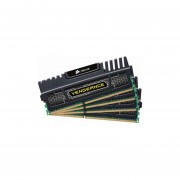 Corsair Vengeance 32GB DDR3 SDRAM Memory Module - 32 GB (4 X 8 GB) - DDR3 SDRAM - 1600 MHz DDR3-1600/PC3-12800 - Non-ECC - Unbuffered - 240-pin - DIMM - CMZ32GX3M4X1600C10