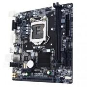 Дънна платка Gigabyte GA-H110M-S2V (rev 1.0), H110, LGA1151, DDR4, PCI-E (DVI&VGA), 4x SATA 6Gb/s, 2x USB 3.0, microATX