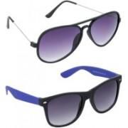 Redleaf Aviator, Wayfarer Sunglasses(For Boys)