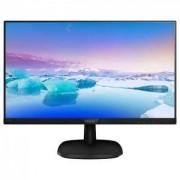 Монитор Philips 243V7QJABF, 23.6 Wide IPS LED, 5 ms, 1000:1, 200M:1 DCR, 250 cd/m2, 1920x1080 FullHD, HDMI, Speakers, DP, Black