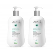 Kit com 2 Potes Umiditá Loção Hidratante para peles sensíveis - 500 ml