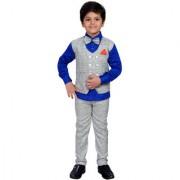 AJ Dezines Kids Party Wear Grey Suit Set for Boys