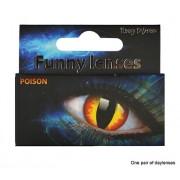 Lentile contact petrecere halloween POISON - Cod 58336
