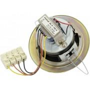 Visaton DL 8 100 V PA-inbouwluidspreker 3 W 100 V Wit 1 stuk(s)