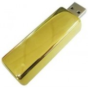 KBR PRODUCT GOLD BAR PAPER WEIGHT & TABLE TOP WITH USB 2.0 32 GB Pen Drive(Gold)