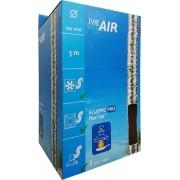 IVC Air Aluminium / PVC flex slang voor afzuigkap, BBQ | tot 250°C | Ø 120mm | lengte 3 mtr