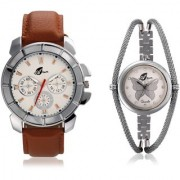 Arum Fashion Analog Watches for Couple AW-007