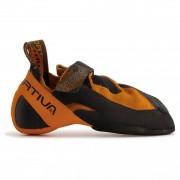 La Sportiva - Python - Klimschoenen maat 41 zwart/oranje/bruin