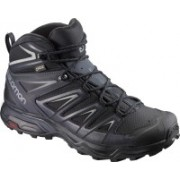Salomon X ULTRA 3 MID GTX® Waterproof Hiking & Trekking Shoes For Men(Black)