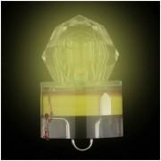 EW Pesca LED Luz Profundo Gota Submarino Diamante En Forma De Luz Intermitente Bait Colorido.