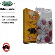 Momeala raticida proaspata, Pasta Ratex