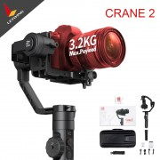 In Stock Free DHL Fedex! Zhiyun Crane 2 New Stabilizer Gimbal for All DSLR Cameras with Follow Focus Tripod Camera Control Cable