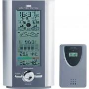 Vezeték nélküli időjárás állomás rádiójel vezérelt órával ezüst/szürke (562527)