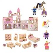 Melissa & Doug Melissa & Doug - 3 Piece Folding Princess Castle