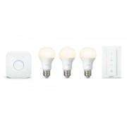 Philips Hue White Kit de Início 3 Lâmpadas E27