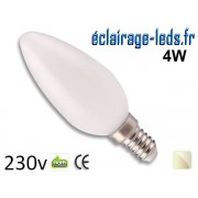 Ampoule Led E14 liquide 4w blanc naturel IP65 230v