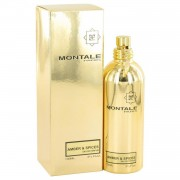 Montale Amber & Spices by Montale Eau De Parfum Spray (Unisex) 3.3 oz