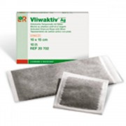 VLIWAKTIV Komprese Vliwaktiv Ag 6.5 x 10 cm sterilní 10 ks