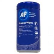 Tisztítókendő, izopropil alkohollal, 100 db, AF Isoclene (TTIAISW100)