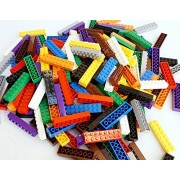 [Build A Wall] Building Bricks in a Storage Bag Fit and Compatible with Lego (2x8, 4 LB)