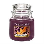 Yankee Candle Autumn Glow Medium Jar Retail Box