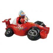 Hucha coche deportivo rojo