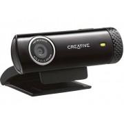 Creative Live Cam Chat HD HD-webcam 1280 x 720 pix Standvoet, Klemhouder
