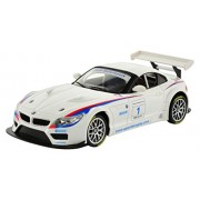 CIS 1:18 BMW Z4 GT3 - White with Head and Tail Lights