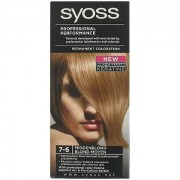 Syoss Professional Performance Haarverf nr. 7-6 Midden Blond