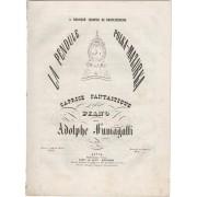 La pendule. Polka-mazurka, caprice fantastique pour Piano. Op. 33 FUMAGALLI, Adolfo (1828-1856) [Buono]