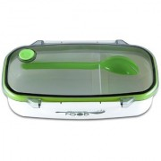 Green Color Rectangular Medium Size Stainless Steel Containers With Air Tight Plastic Lid Tiffin / Lunch Box /Tiffin Box