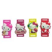 Hello Kitty Shoelace Decoration 4 Pcs Set #2