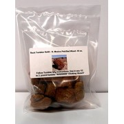 Rock Tumbler Gem Refill Kit New Mexico Petrified Wood Mix Rough 16 oz