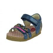 Shoesme Boi Sandaal - blauw metallic - Size: 24